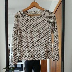 Loft leopard print sweater